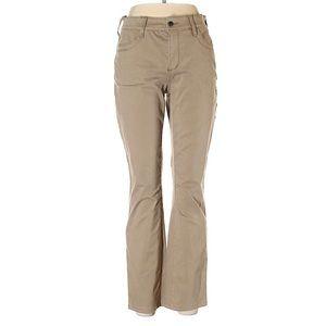 NYJD tan stretch jeans 10